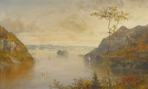 Art Prints of Lake Scene by Norton Bush
