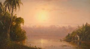 Art Prints of Chagres River Panama 1889 by Norton Bush