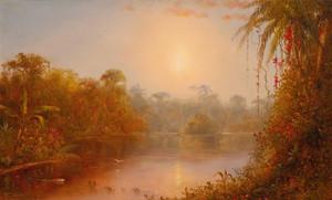 Art Prints of A River in the Tropics by Norton Bush