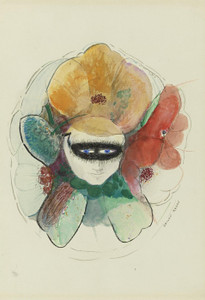 Art Prints of Anemone Human Flowers by Odilon Redon
