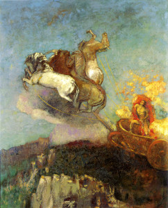 Art Prints of Apollo's Chariot by Odilon Redon