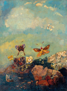 Art Prints of Butterflies by Odilon Redon
