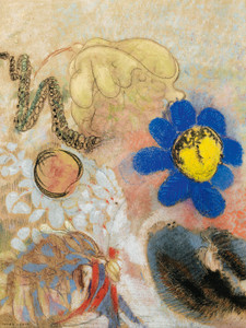 Art Prints of Flora Navy by Odilon Redon