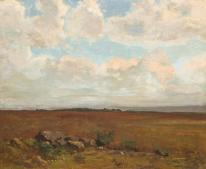 Art Prints of Landscape Around Pyrelebade by Odilon Redon