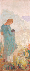 Art Prints of Pandora, 1910 by Odilon Redon