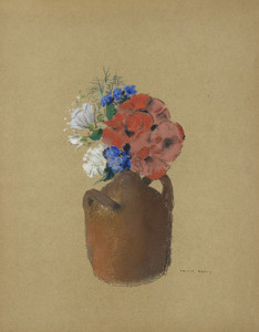 Art Prints of Small Bouquet by Odilon Redon
