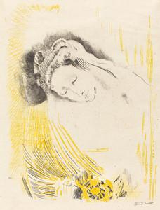 Art Prints of The Shulamite, 1897 by Odilon Redon