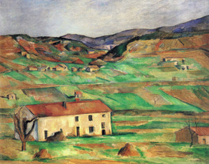 Art Prints of Around Gardanne by Paul Cezanne