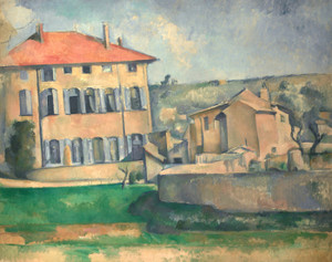 Art Prints of House in Aix by Paul Cezanne