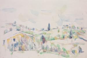 Art Prints of Landscape in Provence by Paul Cezanne