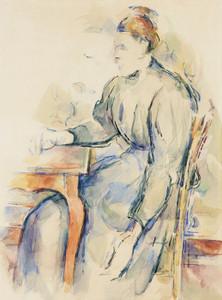 Art Prints of Madame Cezanne by Paul Cezanne