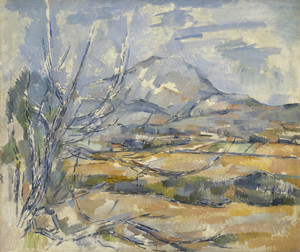 Art Prints of Montagne Saint Victoire by Paul Cezanne