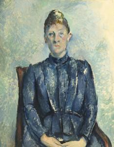 Art Prints of Portrait of Madame Cezanne by Paul Cezanne