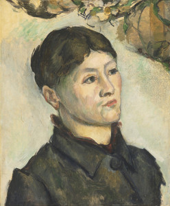 Art Prints of Portrait of Madame Cezanne 3 by Paul Cezanne
