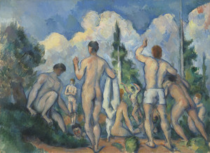 Art Prints of The Bathers by Paul Cezanne
