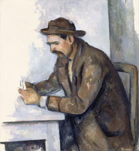 Art Prints of The Card Player by Paul Cezanne