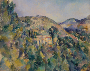 Art Prints of View of the Domaine Saint Joseph by Paul Cezanne