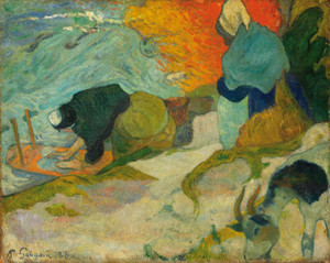 Art Prints of Laveuses C Arles (Washerwomen in Arles) by Paul Gauguin