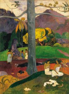 Art Prints of Mata Mua (In Olden Times) by Paul Gauguin
