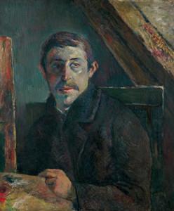 Art Prints of Self Portrait by Paul Gauguin