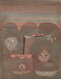 Art Prints of Barbarian Sacrifice by Paul Klee