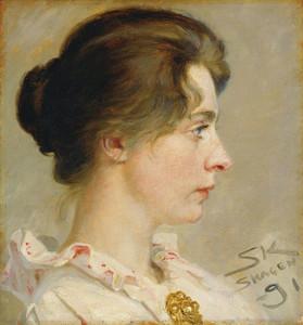 Art Prints of Marie Kroyer by Peder Severin Kroyer