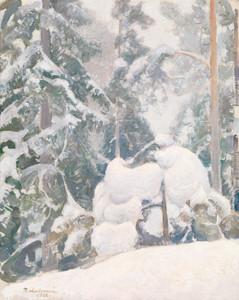 Art Prints of Winter Landscape II by Pekka Halonen