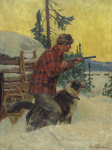 Art Prints of The Winter Hunt by Philip Goodwin