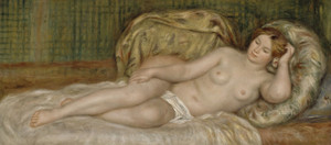 Art Prints of Large Nude by Pierre-Auguste Renoir
