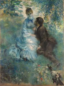 Art Prints of Lovers by Pierre-Auguste Renoir
