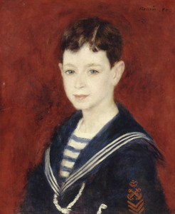Art Prints of Fernand Halphen as a Boy by Pierre-Auguste Renoir