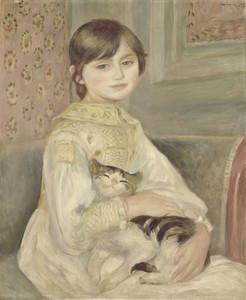 Art Prints of Julie Manet by Pierre-Auguste Renoir