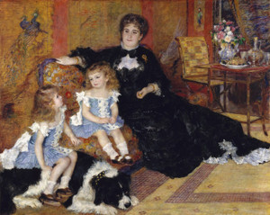 Art Prints of Madame Georges Charpentier and Her Children by Pierre-Auguste Renoir