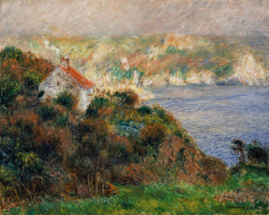 Art Prints of Fog on Guernsey by Pierre-Auguste Renoir