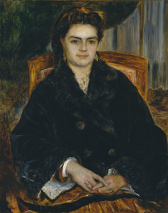 Art Prints of Madame Edouard Bernier by Pierre-Auguste Renoir
