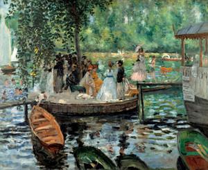 Art Prints of The Bathing Place by Pierre-Auguste Renoir