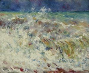 Art Prints of The Wave by Pierre-Auguste Renoir
