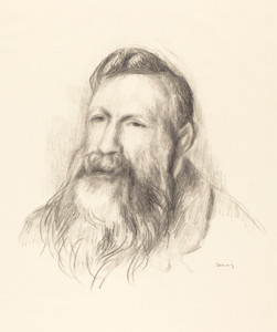 Art Prints of Auguste Rodin by Pierre-Auguste Renoir