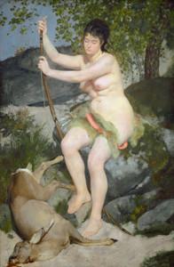 Art Prints of Diana, 1867, by Pierre-Auguste Renoir