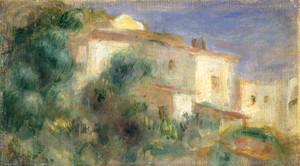 Art Prints of Maison de la Poste by Pierre-Auguste Renoir