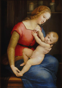 Art Prints of Madonna of the House of Orleans by Raphael Santi