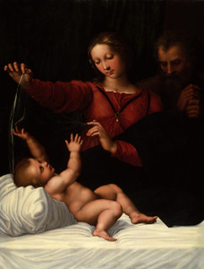 Art Prints of The Holy Family by Raphael Santi