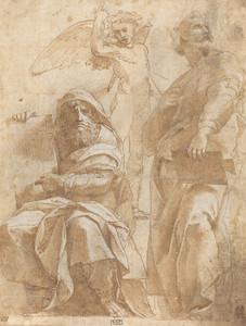 Art Prints of The Prophets Hosea and Jonah by Raphael Santi