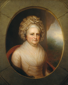 Art Prints of Martha Washington by Rembrandt Peale