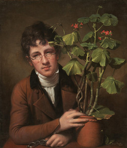 Art Prints of Rubens Peale with a Geranium by Rembrandt Peale