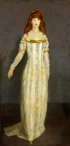 Art Prints of The Masquerade Dress by Robert Henri