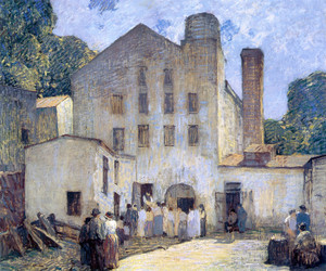 Art Prints of The Silk Mill by Robert Spencer
