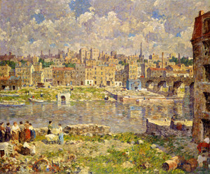 Art Prints of The Other Shore by Robert Spencer
