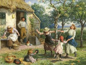 Art Prints of In the Apple Orchard by Robert Walker Macbeth