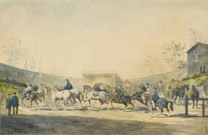 Art Prints of Horse Market by Rosa Bonheur